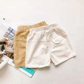 男女寶寶中小童兒童休閒柔軟口袋短褲五分褲棉夏季新品純色簡約韓