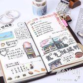 TN旅行手帳復古隨身文具皮日記活頁創意筆記本Dhh6206【潘小丫女鞋】