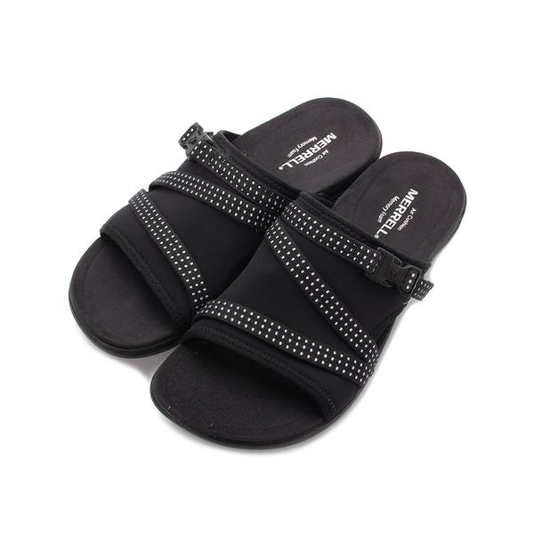 MERRELL District Muri 一片拖鞋 黑 ML90548 女鞋
