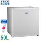 TECO東元50公升小鮮綠單門小冰箱 R...