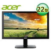 acer 宏碁 KA220HQ 22型 不閃屏瀘藍光螢幕【加贈螢幕架】