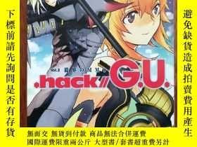二手書博民逛書店.hack  G.U.〈Vol.2〉境界のMMO罕見文庫Y398466 浜崎達也 角川書店 ISBN:9784