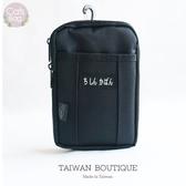 Catsbag|灣製造質感耐磨大容量二用腰包可斜背(6.2吋大手機可放)TW315