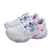 SKECHERS 運動鞋 女鞋 白/桃紅 厚底 149512WMLT no404