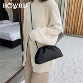 手拿包包包2020新款潮春簡約女側背斜背女包可手拿純色時尚款女士包 嬡孕哺