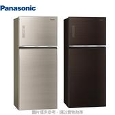 Panasonic 國際牌【NR-B421TG】 422公升變頻雙門玻璃冰箱