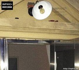INPHIC- 美式鄉村咖啡館鐵藝樓梯走廊陽臺單頭工業懷舊復古壁燈-E款_S197C