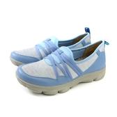 Kimo 懶人鞋 休閒鞋 女鞋 藍色 針織 KAISF054356 no836