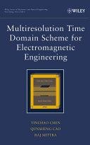 二手書博民逛書店《Multiresolution Time Domain Scheme for Electromagnetic Engineering》 R2Y ISBN:0471272302