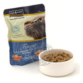 【培菓平價寵物網】英國 海洋之星 Fish4Cats《貓用│海藻精華鮭魚慕斯》100g