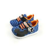 Disney Mickey Mouse 迪士尼 米奇  休閒鞋 魔鬼氈 藍色 小童 D117025 no089