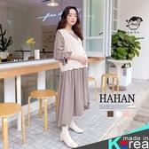【HC5300】針織V領背心 兩件式洋裝