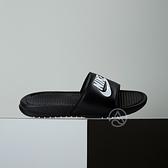 Nike Benassi Slide 男女款 黑色 基本款 拖鞋 343880-090