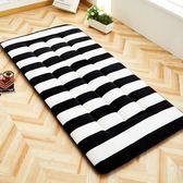 加厚學生宿舍0.9m單人保暖床墊90cm寢室米床褥子80墊被igo Chic七色堇