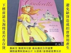二手書博民逛書店Cinderella:罕見A Pop-Up Fairy Tale 辛德瑞拉-立體折疊書Y8204 Matthe