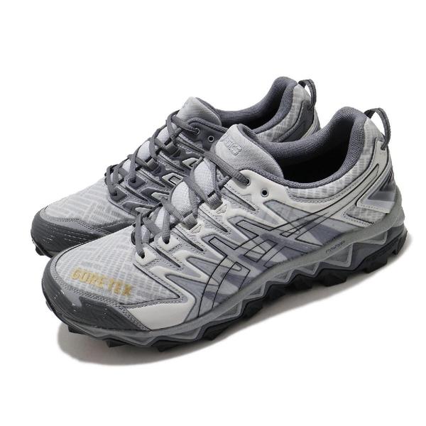 Asics 慢跑鞋 Beams x Gel FujiTrabuco 7 G-TX SPS 灰 白 男鞋 【ACS】 1021A250025