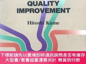 二手書博民逛書店Statistical罕見Methods for Quality Improvement  質量改善的統計方法