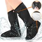高筒防雨鞋套.防水鞋套防滑腳套.加厚雨靴套登山鞋套.耐磨矽膠防雪防汙下雨天.男女戶外輕便雨衣