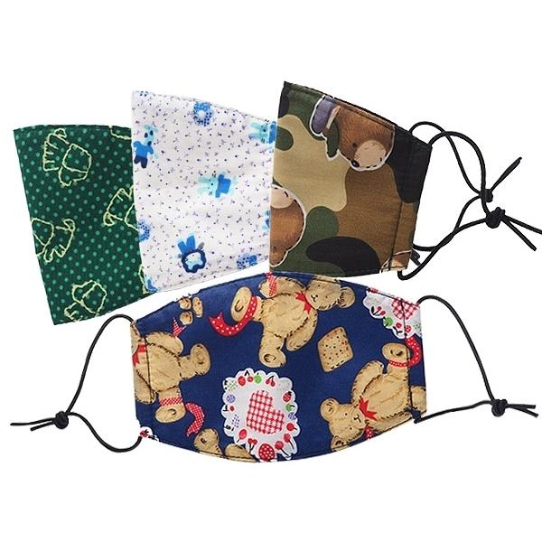 金媽媽 台灣製兒童口罩(M號)單入 多款隨機出貨【小三美日】 防禦必備