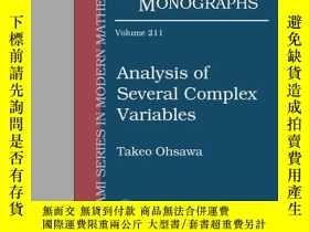 二手書博民逛書店Analysis罕見Of Several Complex Variables-幾個復變量的分析Y436638