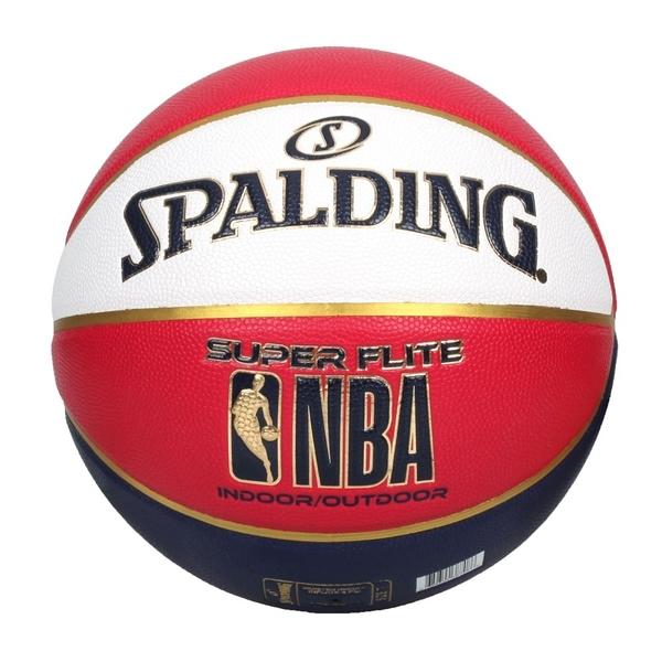 SPALDING NBA SUPER FLITE系列#7號合成皮籃球(7號球 斯伯丁≡體院≡ SPA76352