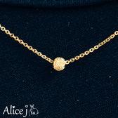 頸上明珠 黃金項鍊