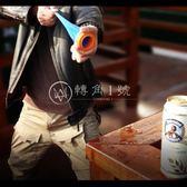 口袋彈弓加長彈弓皮套美國便攜精準彈弓圓形射手杯 正品【轉角1號】
