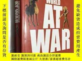 二手書博民逛書店英文原版罕見The Ancient World at War A Global History 戰爭中的古代世界-