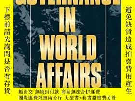 二手書博民逛書店Governance罕見In World AffairsY256260 Oran R. Young Corne