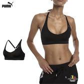 Puma SpotLite 女 黑 運動內衣 背心 慢跑 運動 瑜珈 彈性 舒適 透氣 低衝擊 薄運動內衣 51770001