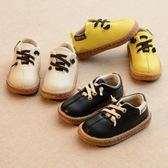 童鞋 春秋新款兒童鞋正韓男童豆豆鞋寶寶皮鞋英倫風女童休閒板鞋軟底潮