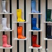 雨鞋女高筒時尚水靴防水膠鞋女士水鞋防滑可愛套鞋戶外成人雨靴 小艾時尚