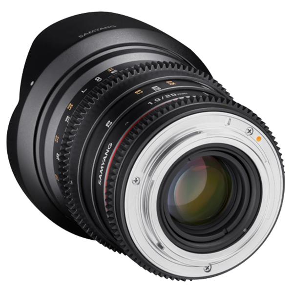 ◎相機專家◎ Samyang 20mm T1.9 ED AS UMC 電影鏡頭 For Canon EF 正成公司貨