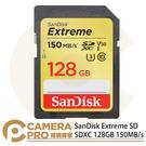 ◎相機專家◎ 免運 Sandisk Extreme 128GB SDXC 600X 150MB/s V30 128G 增你強公司貨