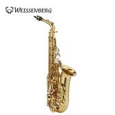 【敦煌樂器】Weissenberg A-865GL Alto 中音薩克斯風 金漆塗裝款