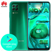 全新未拆封華為HUAWEI nova 6 SE 6.4吋 8/128G(全網通版內建GMS)國際版 台灣保固一年