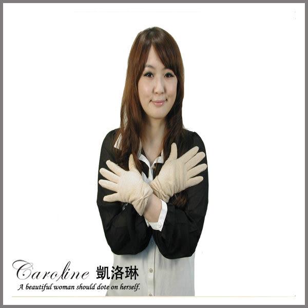 《Caroline》★今年冬天必備高雅大方設計時尚保暖手套60055
