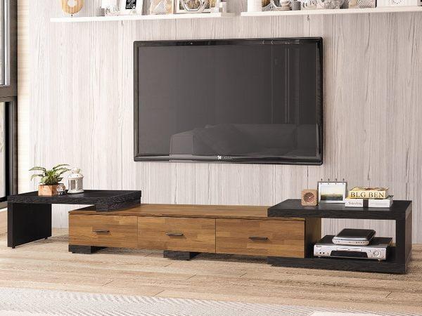 電視櫃 TV-335-1 科隆集成柚木6.3尺伸縮長櫃【大眾家居舘】