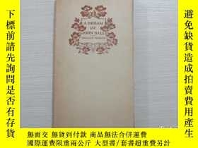 二手書博民逛書店Mosher珍品:A罕見dream of john ballY2