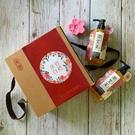 【茶寶 潤覺茶】客家風華桃花禮盒3件組(洗髮+沐浴+桃花皂)-波比元氣