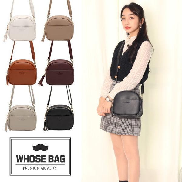 【WHOSE BAG】韓國嚴選半月口袋側背包 NO.LM215