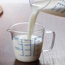 [拉拉百貨]250ML玻璃刻度杯 耐熱高硼矽玻璃 量杯 帶刻度 牛奶杯 可微波 量水杯 透明刻度杯