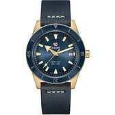 RADO 雷達 庫克船長青銅自動機械腕錶 R32504205