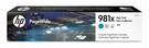 L0R09A HP 981X 藍色墨水匣適用 PageWide 556/586