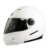 THH T797 T-797A+ 內襯全可拆洗 雙層鏡片 遮陽鏡片 可樂帽 全罩 安全帽 素色 珍珠白 白