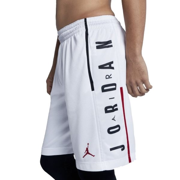 Nike Jordan Rise 男 白 短褲 籃球褲 排汗 快乾 運動褲 喬丹 慢跑 訓練 健身 快乾 舒適 888377100