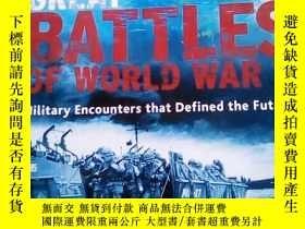 二手書博民逛書店GREAT罕見BATTLES OF WORLD WAR II (