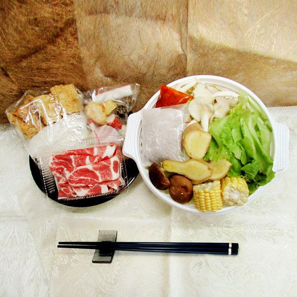 『輕鬆煮』藥膳豬肉鍋 (約1300g/盒) 2~3人份 (廚房快煮即可上桌)