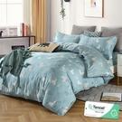 雙人 152x188cm 頂級100%天絲 40s400針紗 床包四件組(兩用被套)-清新派 【金大器】