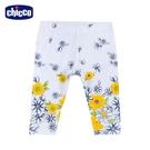chicco-時尚派對-手繪花朵內搭長褲